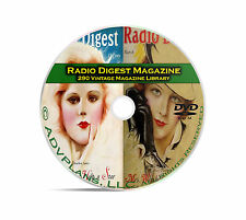 Radio Digest Magazine, 290 Classic Old Time Radio OTR Magazine Series DVD B92