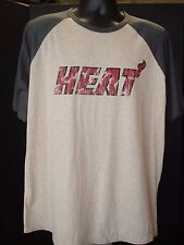 Miami Heat Distressed-Style NBA Exclusive Collection Gray T-Shirt - Size XL NWT!