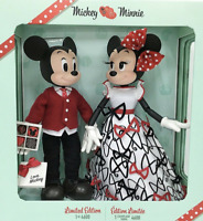 Mickey & Minnie Mouse Limited Edition /4600 Valentine's Day Doll Set *FREE SHIP*