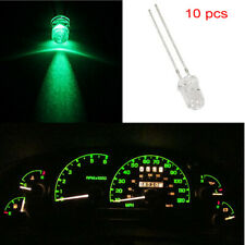 10x Green 5mm Mini LED Bulbs Instrument Cluster Panel Gauge Dash Lights 12V