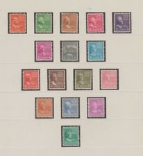 U.S. 1938 Presidential Series #803-831, 29 Stamps 1- 50 cents Complete, mNH Fine