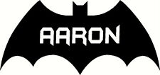 Personalizzata Batman Logo, Grafica in Vinile Decalcomania Sticker. Porta, Muro Nuovo Design