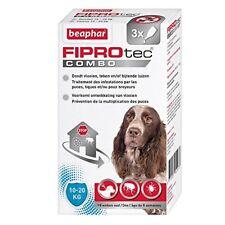 Beaphar FIPROtec Combo pipettes Anti-puces et Anti-tiques - Chien de 10 À 20kg