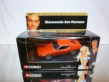 CORGI TOYS 1:36  - JAMES BOND 007 - FORD MUSTANG MACH 1 -  GOOD CONDITION IN BOX