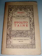 Ippolito Taine / Giuseppe La Ferla