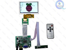 Small LCD kit For Raspberry Pi Project 5inch 800*480 Lcd and HDMI VGA Controller