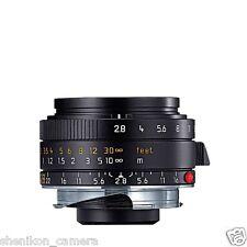 100% New Unused Leica ELMARIT-M 28mm F2.8 f/2.8 ASPH. 6-Bit M 240 M9 M8 E 11606