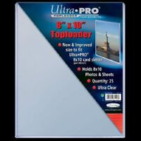 15 8x10 ULTRA PRO RIGID TOPLOADERS PHOTO HOLDER SLEEVES 8 x 10 Top Load Holders