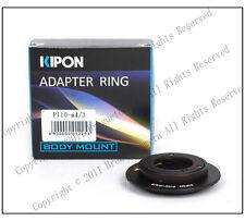 Pentax PTX 110 P110 to Micro 4/3 M4/3 G2/GH1 E-P1/EP-2 Adapter w/ FREE rear cap