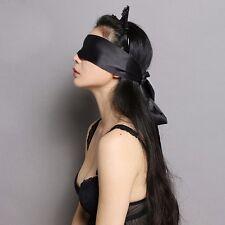 Ruban Satin Bandeau Masque Sexy Noir NEUF T