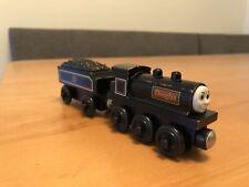 Thomas & Friends Wooden Railway Train Engine Douglas w Tender - 2000