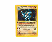 Machamp 1st Edition 8/102 - COSMOS GALAXY - Base Set - Holo Rare - Pokemon Card