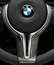 New Genuine BMW M3 M4 M Performance Gloss Carbon Steering Wheel Trim 32302345203