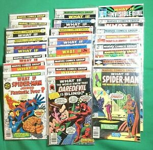 Marvel WHAT IF? Lot #1-6,8-9,11-15,19-20,27,32,34-35,38,42 (24 books total!)