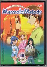 dvd MERMAID MELODY Principesse sirene HOBBY & WORK numero 16