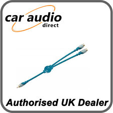 Phonocar 4/277 Y-Lead Adaptor High quality signal conductors 2 x Cables Supplied