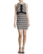 Laundry by Shelli Segal Dress - size 6 - popover Jacquard black dress BNWT