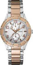 Guess Orologio Watch Siren Acciaio Bicolore Multifunzione Strass W0442L4 Ramato