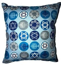 Hanukkah Pillow Jewish Holiday Pillow Handmade in USA