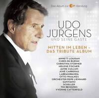 UDO JÜRGENS Und Seine Gäste Mitten Im Leben 2CD 2014 Tribute Schiller Santiano