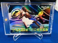 1997-98 Skybox Reebok Allen Iverson Rainbow- The Answer Shoe Promo Insert Card!