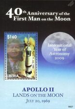 Space Liberian Stamps