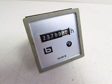MULLER QUARZ ELAPSED TIME COUNTER HOURLY 10-80V **XLNT**