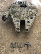 Used Star Wars Millenium Falcon Micro Machines Action Fleet Playset