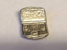 Laptop TG321 Made from Solid Fine English Pewter Pin Lapel badge