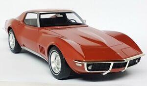 GTSpirit 1/12 Chevrolet Corvette Stingray C3 1968 Bronze Large Scale Model Car