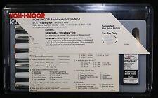 Vtg Koh-I-Noor Rapidograph Professional Technical Pen Set 3165-SP7 - 7 Pens -USA