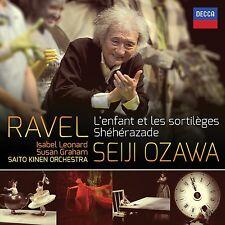L 'enfant et les sortileges, Sheherazade/+ CD NUOVO Ravel, Maurice