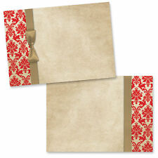 Print your own wedding invitations, wedding stationery - Pack of 20 Blanks