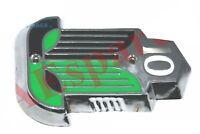 Standard 10 capot de voiture Vintage Badge Chrome vert en plastique noir Made