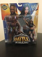 WWE Battle Pack  Series 28 Big E & AJ Lee Action Figures Cookie Sheet New READ