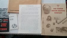 Circa 1965 Timken Steel Histories & Pamphlets
