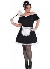 Women's Plus French Maid Halloween Costume