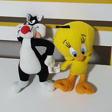 LOONEY TOONS MCDONALDS TOYS TWEETY BIRD AND SYLVESTER PLUSH TOYS SOFT TOYS