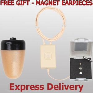SPY TINY NANO EARPIECE HEADSET SPHERIC INVISIBLE MICRO MINI EARPHONE HEADPHONE