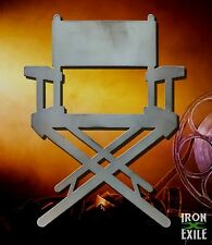 Director's Chair Movie Metal Wall Art Decor Vintage Theater Room Sign Home