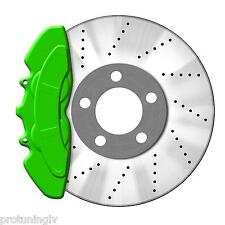 GREEN Brake Caliper Paint Kit also for Engine Bay Brakes Manifold heat resistant