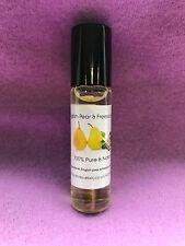 English Pear & Freesia Type Perfume Oil - 10ml roller ball - handbag size
