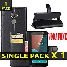 Para VodaPhone Smart N8 nuevo libro de cuero PU estilo Cartera Funda Bolsa