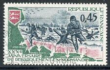 STAMP / TIMBRE FRANCE OBLITERE N° 1799  DEBARQUEMENT EN NORMANDIE
