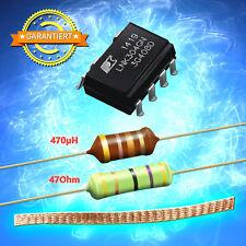 Kit, Reparaturset LNK304GN + Widerstand 47 Ohm 3W + Drossel 470µH, Lötzlitze 5cm