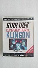 Star Trek - Conversational Klingon by Marc Okrand (Audio, 1993)
