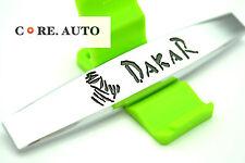 New Dakar Emblem Car SUV Side Panel Sticker Badge For Defender HSE Discovery