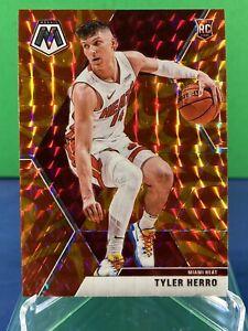 2019-20 Panini Mosaic Orange Reactive Tyler Herro Rookie card