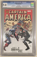 Captain America #14 NM / Mint HTF CGC 9.8 White Pages (2006)
