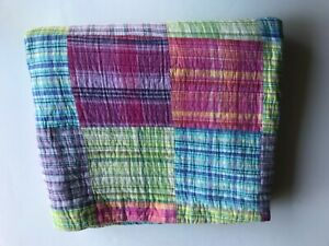 """Patchwork Quilted Comforter 82""""x64"""""""